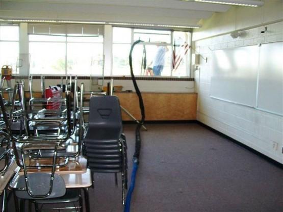 Hose Through Window Jefferson HS Foundation Lift