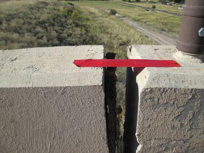 castle-rock-bridge-approach-slab-settlement-before